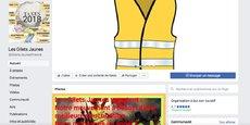 La page « Les Gilets Jaunes » (54.000 likes) diffuse des annonces de recrutement de militants et des tutoriels pour se protéger contre le gazage lors des manifestations.