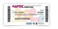 Le chèque culture numérique d'Aptic permet de financer des formations au numérique.