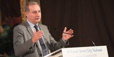 Jean-Luc Moudenc, mercredi 12 décembre, à l'occasion du forum Smart City.