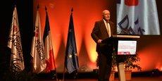 La président de la Région Nouvelle-Aquitaine, Alain Rousset, lors du séminaire européen sur la future Pac.