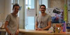 Raphael Poughon et Quentin Jaud: les bobines de La Compagnie Rotative