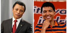 10 millions d'électeurs devront voter pour choisir leur président entre les qualifiés au second tour Andry Rajoelina (à droite) et Marc Ravalomanana. Mais leur participation sera-t-elle au rendez-vous?