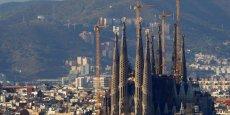 La Sagrada Familia à Barcelone. La Catalogne a été la région la plus visitée, suivie de près par les îles Baléares puis l'Andalousie et les Canaries - Copyright Reuters