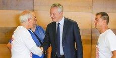 Bruno Le Maire, ministre de l'Economie et des Finances, est très impliqué dans le dossier... sans succès jusqu'à présent