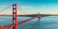 Le pont du Golden Gate est l'emblème de la ville de San Francisco.