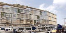 Le futur siège européen de Google, à Londres
