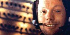 Neil Armstrong lors de la mission Apollo 11 / Photo Nasa