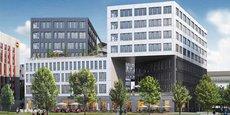 Les nouveaux locaux d'Erasmus+ France à Bordeaux, dans le quartier Euratlantique
