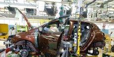 Renault Clio IV à Flins. Copyright Reuters