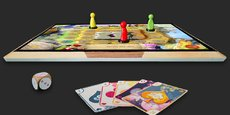 Wizama intends to give a second youth to the board game.