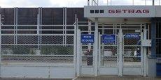 Une des entrées de l'usine Getrag Ford Transmissions à Blanquefort (Bordeaux Métropole).