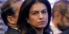 La vice-présidente exécutive du groupe Renault, Mouna Sepehri, lors d'une conférence stratégique le 6 octobre 2017, à Paris.