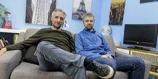 David Dedeine et Sebastian Wloch cofondateurs et codirigeants d'Asobo.