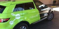 La voiture autonome de Valeo circule sur les routes de Las Vegas