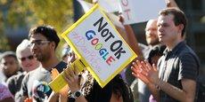 En novembre dernier, 20.000 Googlers ont manifesté contre la culture du silence imposée par la firme de Mountain View, accusée d'avoir fermé les yeux des cas de harcèlement sexuel.