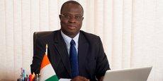 Emmanuel Esmel Essis, secrétaire d'État auprès du Premier ministre chargé de la promotion de l'investissement privé en Côte d'Ivoire, et directeur général du Centre de promotion des investissements en Côte d'Ivoire (CEPICI).