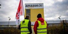 Lors du Black Friday en novembre dernier, les salariés d'Amazon ont organisé des grèves, notamment en Allemagne, pour réclamer une revalorisation des salaires.