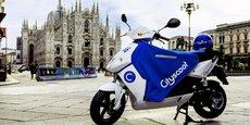 Avec 500 scooters, puis très bientôt un millier, Cityscoot devrait être le plus gros opérateur de Milan.