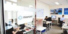 La Fintech parisienne Mooncard emploie actuellement 20 personnes. Elle compte doubler ses effectifs.