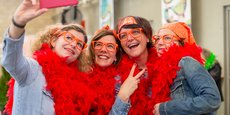 Les participants au Rallye des pépites sont invités à se déguiser