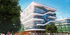 La plus importante transaction de l'année 2018 : 20 000 m² de bureaux dans l'ensemble Urban Garden à Lyon-Gerland, où Engie installera sa direction régionale en 2021.