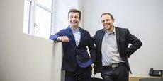 Yannick Lourenco, dirige l'agence de Bordeaux de Next Decision, entreprise dont Régis Boudaud est le directeur associé.
