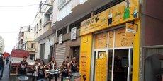 Ouverture d'un nouveau magasin hard-discount Supeco au Maroc.