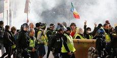 A 14h, ils étaient 22.000 à manifester en France, dont 2.500 à Paris, selon le ministère de l'Intérieur.