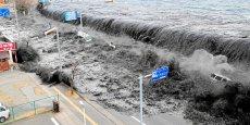 La vague du tsunami dans la ville de Miyako au Japon le 11 mars 2011. Copyright Reuters