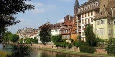 Quartier de la petite France à Strasbourg, Copyright Reuters