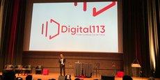 Pierre Deniset, président de FrenchSouth.digital, lors du lancement du nouveau cluster numérique d'Occitanie, le 5 février.
