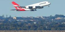 Qantas exploite 12 A380.