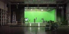 Un des studios de tournage intégrés au campus créatif de l'ESMA