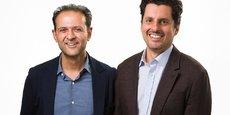 Rishi Khosla et Joel Perlman les deux cofondateurs de la banque en ligne pour PME OakNorth.