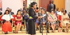 Rose Christiane Ossouka Raponda, la nouvelle ministre de la Défense va prononcer un serment solennel devant Ali Bongo, toujours en convalescence au Maroc.