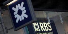 Le cours de l'action de Royal Bank of Scotland (RBS) a bondi de 11,24%.