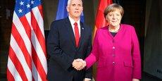 USA: PENCE PRESSE LES EUROPÉENS SUR L'IRAN ET LE NORDSTREAM