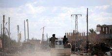 LES FDS DEMANDENT À LA COALITION DE LAISSER 1.500 HOMMES EN SYRIE