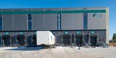 L'entrepôt de Marly, livré en avril 2018, a reçu le label BiodiverCity.