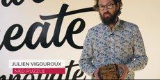 Julien Vigouroux, l'un des trois cofondateurs de NKD Puzzle