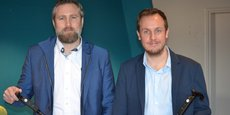 Cedric Dauduit et Vincent Gauchard présentent la Smartcane