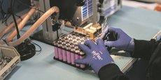 700 heures de développement sont consacrées par la PME Vlad à la mise au point de batteries pour exosquelettes.