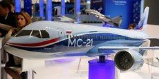 Des ambitions resserrées. Alors que le gouvernement russe tablait il y a quelques années sur une part de marché de 10% à 15% pour le futur MC-21, il ne vise plus aujourd'hui que 4,5% du marché mondial.