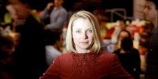 Marissa Mayer, la patron de Yahoo craint la prison en cas de divulgation d'information sur le programme de surveillance américain (Photo Reuters)