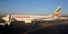 Ethiopian Airlines a suspendu l'exploitation de ses quatre autres B737 MAX