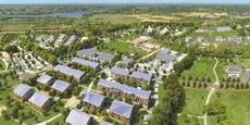 Sur une zone de 37 hectares située près de l'Erdre, les 650 logements collectifs et individuels ont un impact neutre sur l'environnement.
