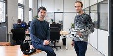 Roman Luciani et Antoine Tournet, les fondateurs de Diodon Drone Technology.