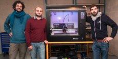 En un an, eMotion Tech a développé une nouvelle imprimante 3D.