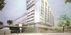 Le Grand Central, bâtiment conclu par l'architecte catalan Josep Llius Mateo, au cœur de Nice Eco-Vallée.