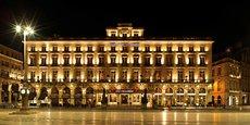 Les hôtels de Bordeaux Métropole (ici l'Intercontinental Bordeaux le Grand Hôtel) ont bénéficié de la hausse de la fréquentation touristique.